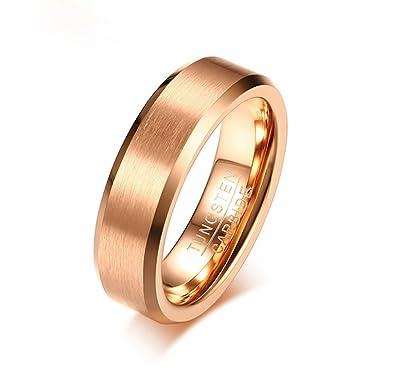 Amazon.com: KnSam Eternity alianzas de boda para hombres y ...