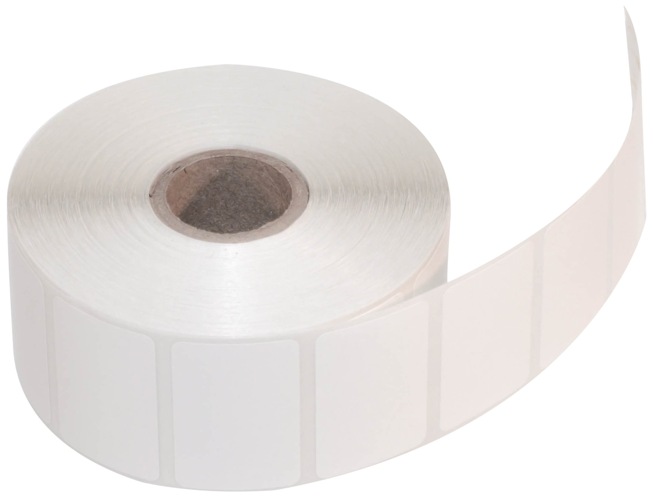 CompuLabel Direct Thermal Labels, 1 1/2 x 1 Inch, White, Roll, Permanent Adhesive, Perforations Between Labels, 1300 per Roll, 12 Rolls per Carton (530548)