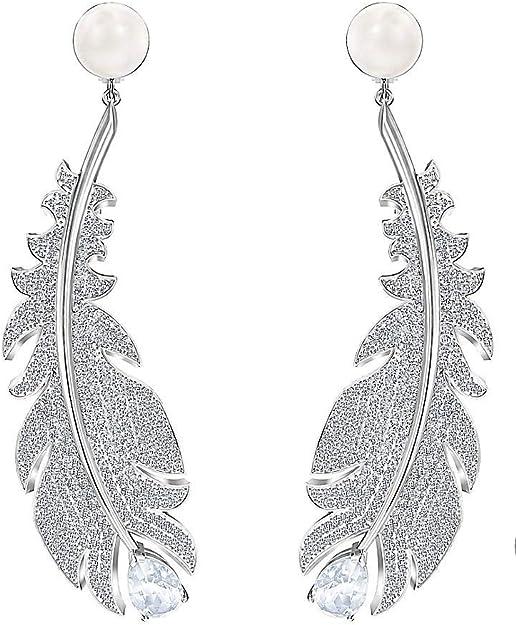 Swarovski Boucles d'oreilles bijou de tendance pour femme, collection Nice,  code 5497866