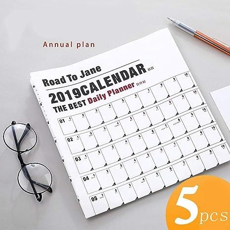 Planificadores diarios 365 días de almacenamiento diario ...