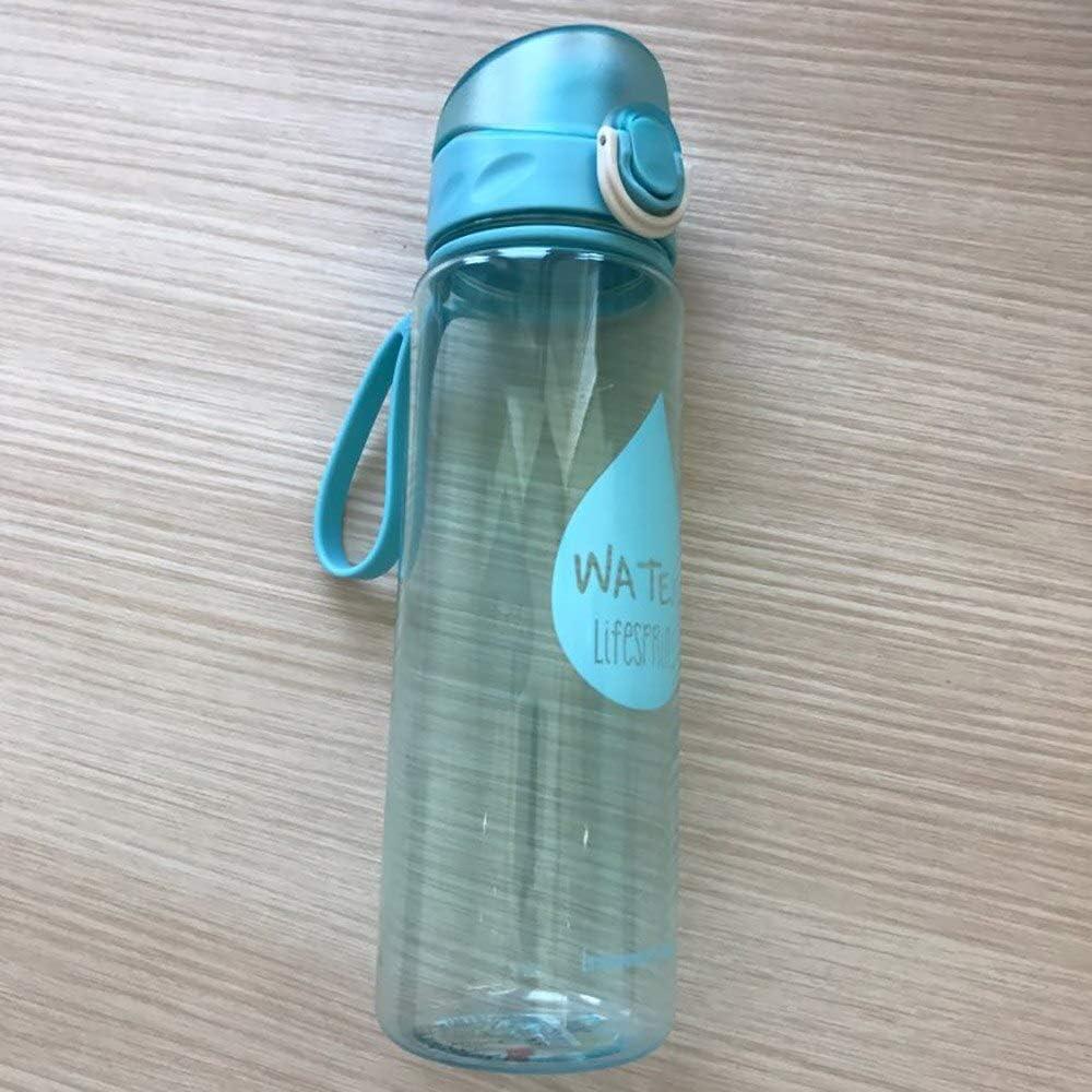 ZYLL My 500ml Travel Sports Drinkware Resistente al Calor Botella de Agua a Prueba de Fugas Exterior Vehículo General Amantes Senderismo Regalo Botellas de Agua