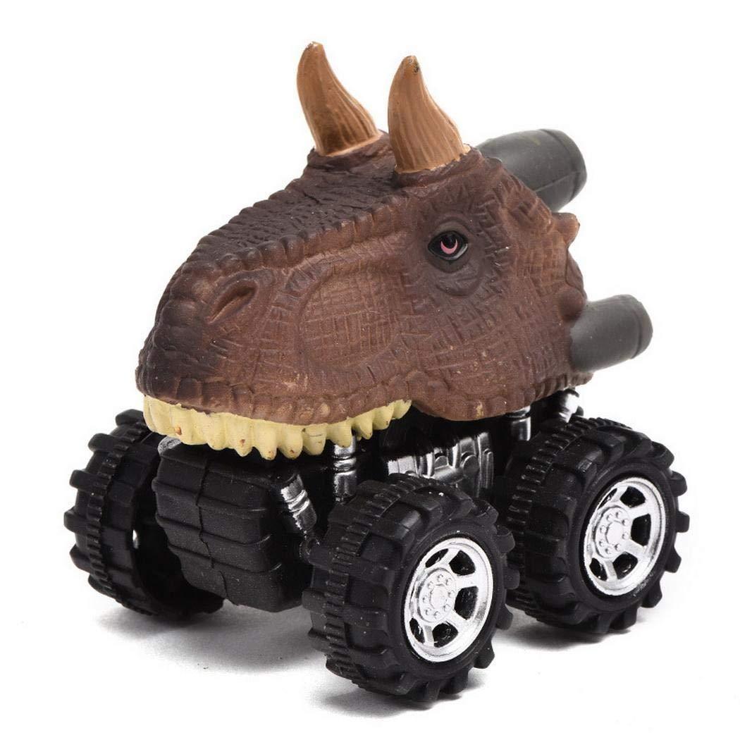Animales Dinosaur Cars Pull Back Car Kids Diversión Juguetes Niños Regalos Nisels