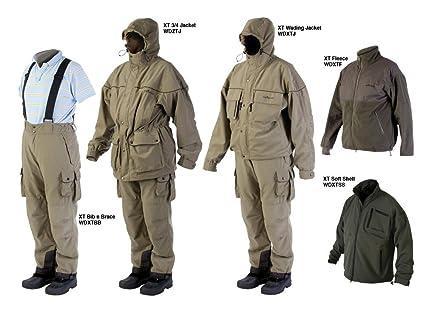 Daiwa Wilderness XT zancuda chaqueta tamaño Extra grande pesca abrigo