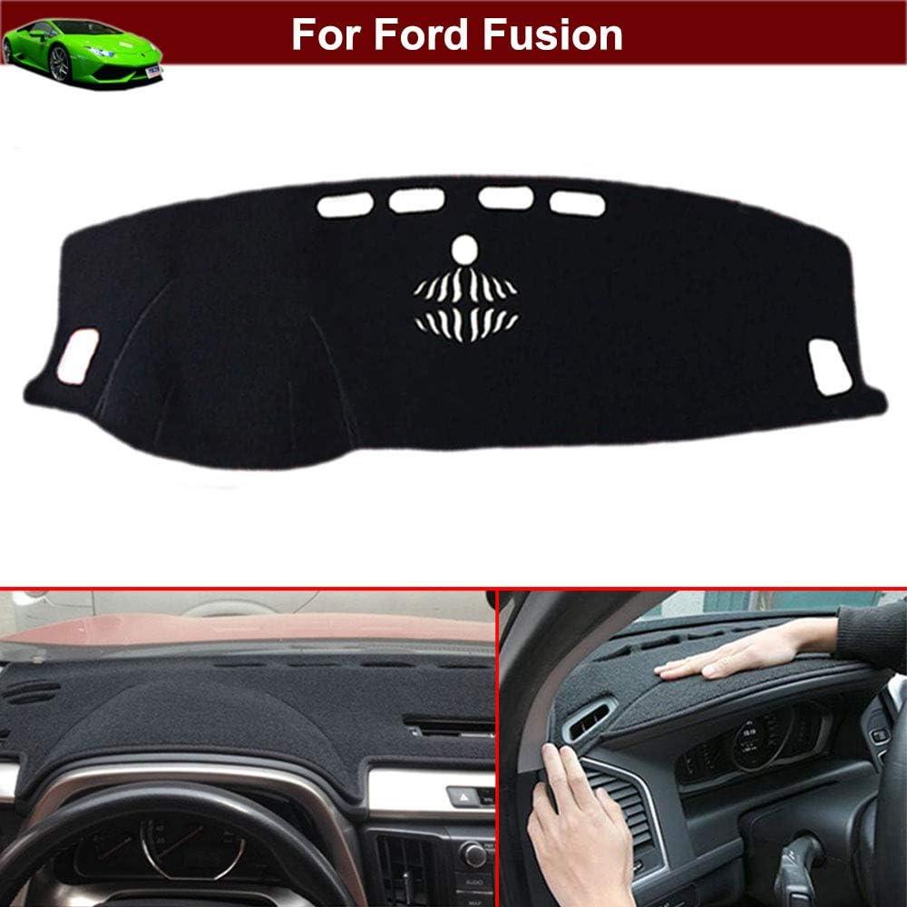 New 1pcs Black Non-Slip Dash Mat Dashboard Mat Dash Carpet Dash Covers Dashboard Cover Custom Fit for Ford Fusion 2013 2014 2015 2016 2017 2018 2019 2020
