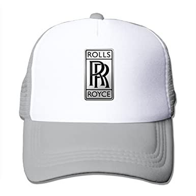 nouveaux styles 0e803 bc546 NImao Rolls-Royce Logo Adjustable Snapback Cap Baseball Hats ...