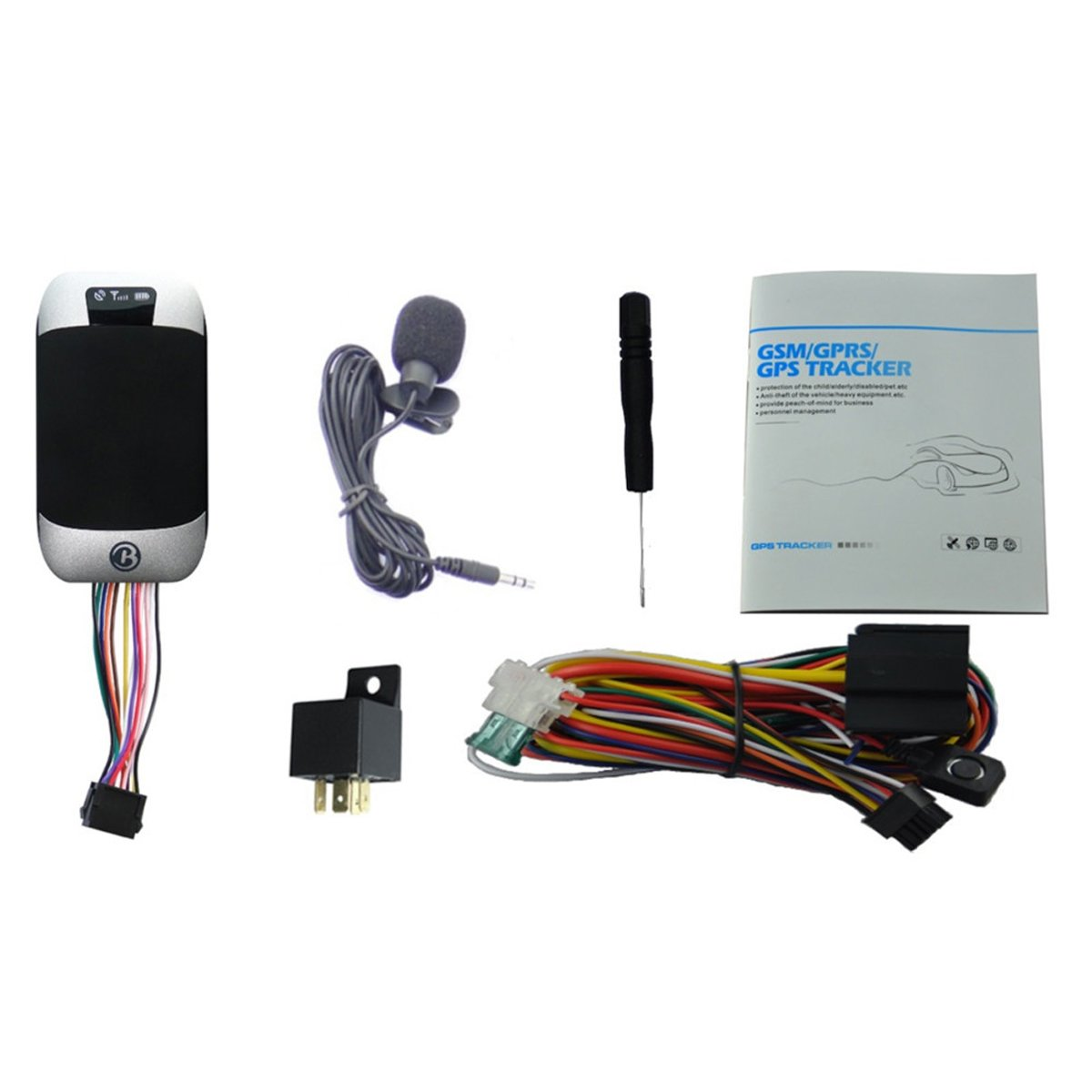 ATian GPS303G Vehicle Car GSM//GPRS// GPS Tracker Tracking Device System Google maps Remote Control