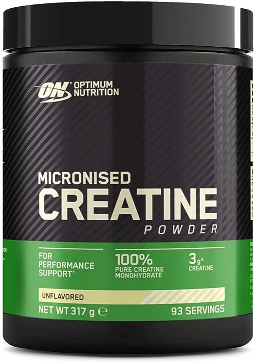 creatina micronizzata Integratore optimum nutrition per lo sviluppo muscolare, non aromatizzato, 317 g 1102271