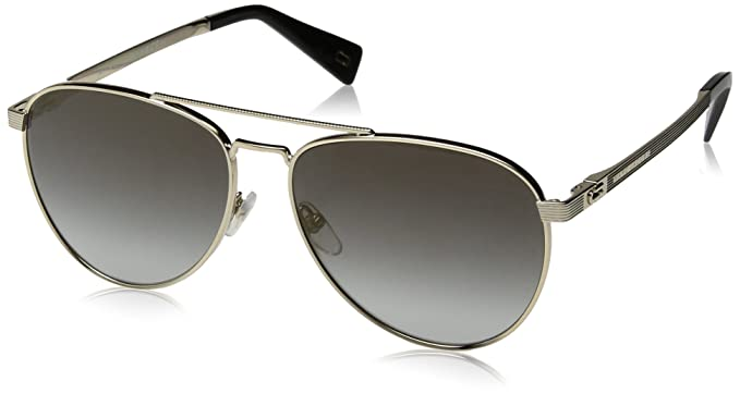 28ab3e3c5eb3 Amazon.com: Marc Jacobs Men's Marc240s Aviator Sunglasses, Gold, 59 ...