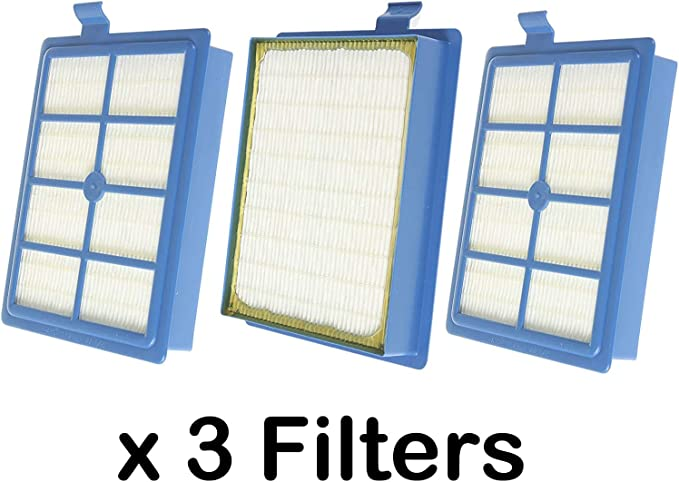 Spares2go EFH12 W tipo filtro Hepa para Electrolux Ergospace Clario, Excellio oxígeno Airmax – Aspiradora (Pack de 3): Amazon.es: Hogar