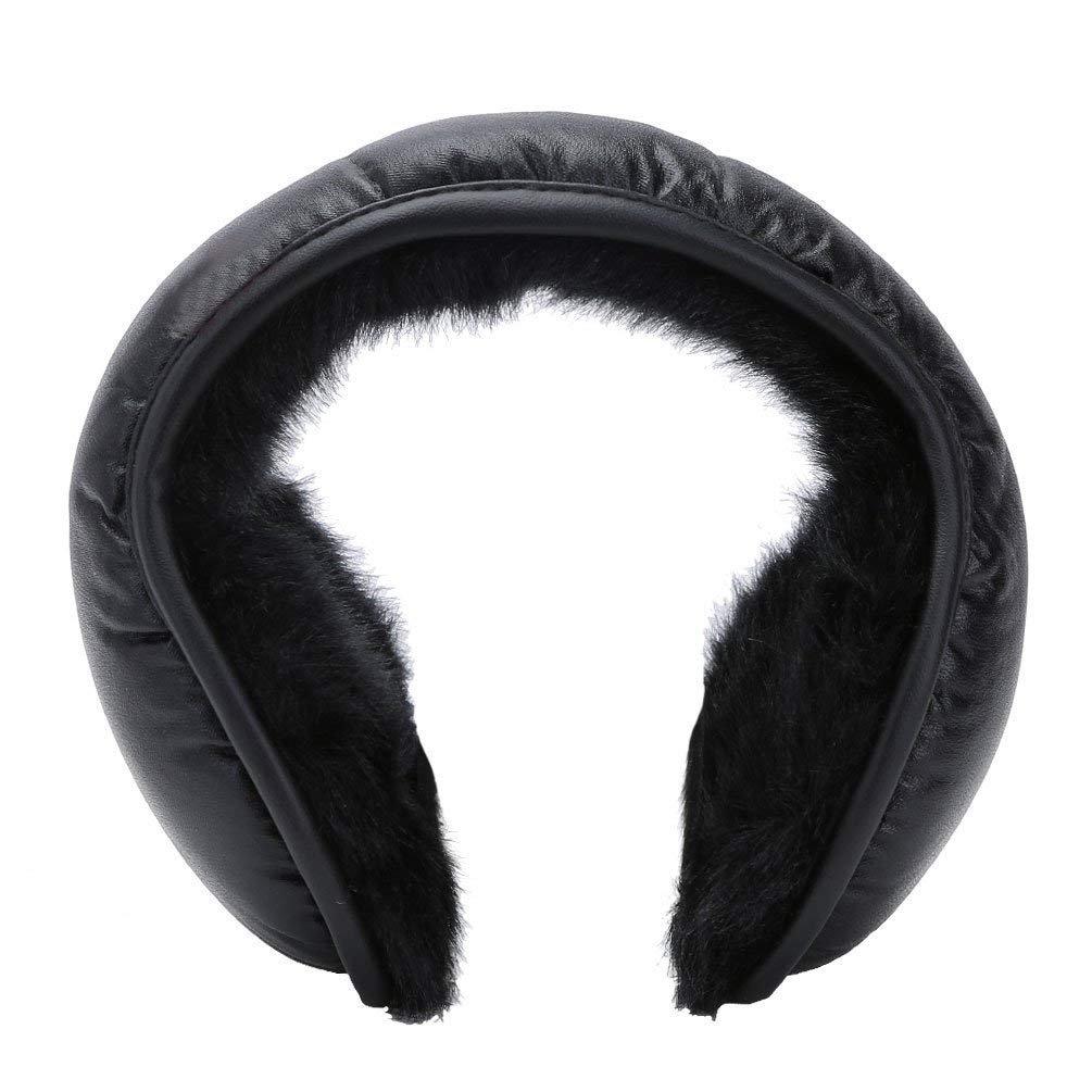 Winter Earmuffs Ear Warmers Earflap Adjustabe Wrap around Outdoor Foldable New