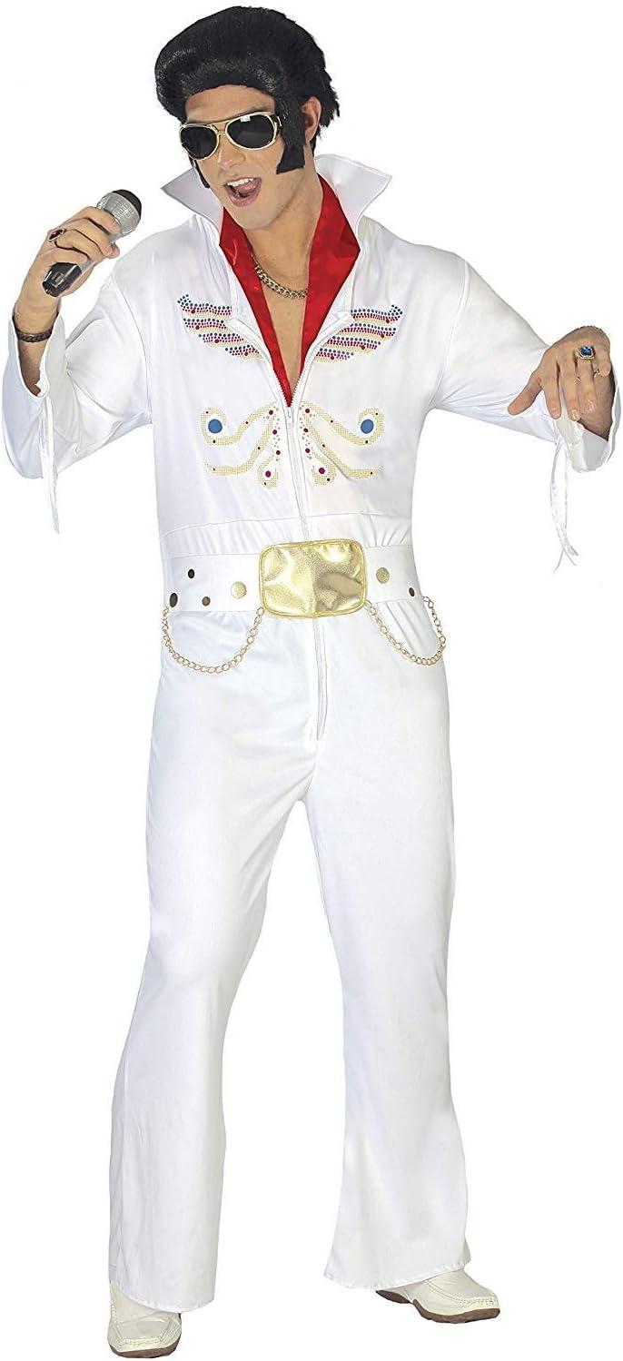 Disfraz de rey del rock Elvis Presley el rey talla XL: Guirca ...