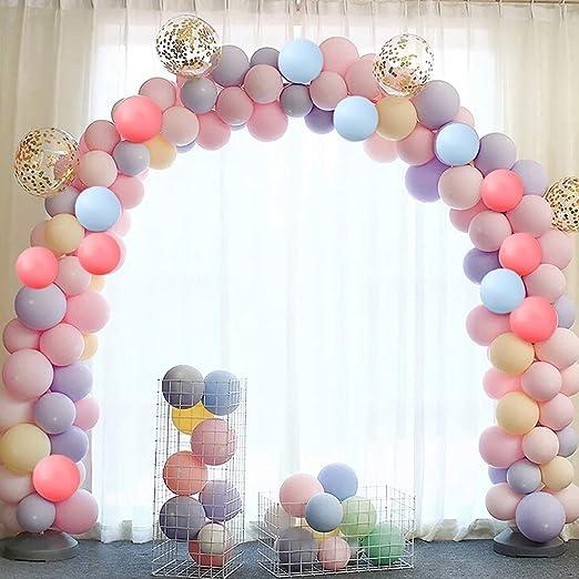 80 globos pastel, globos de látex de color macaron, globos ...