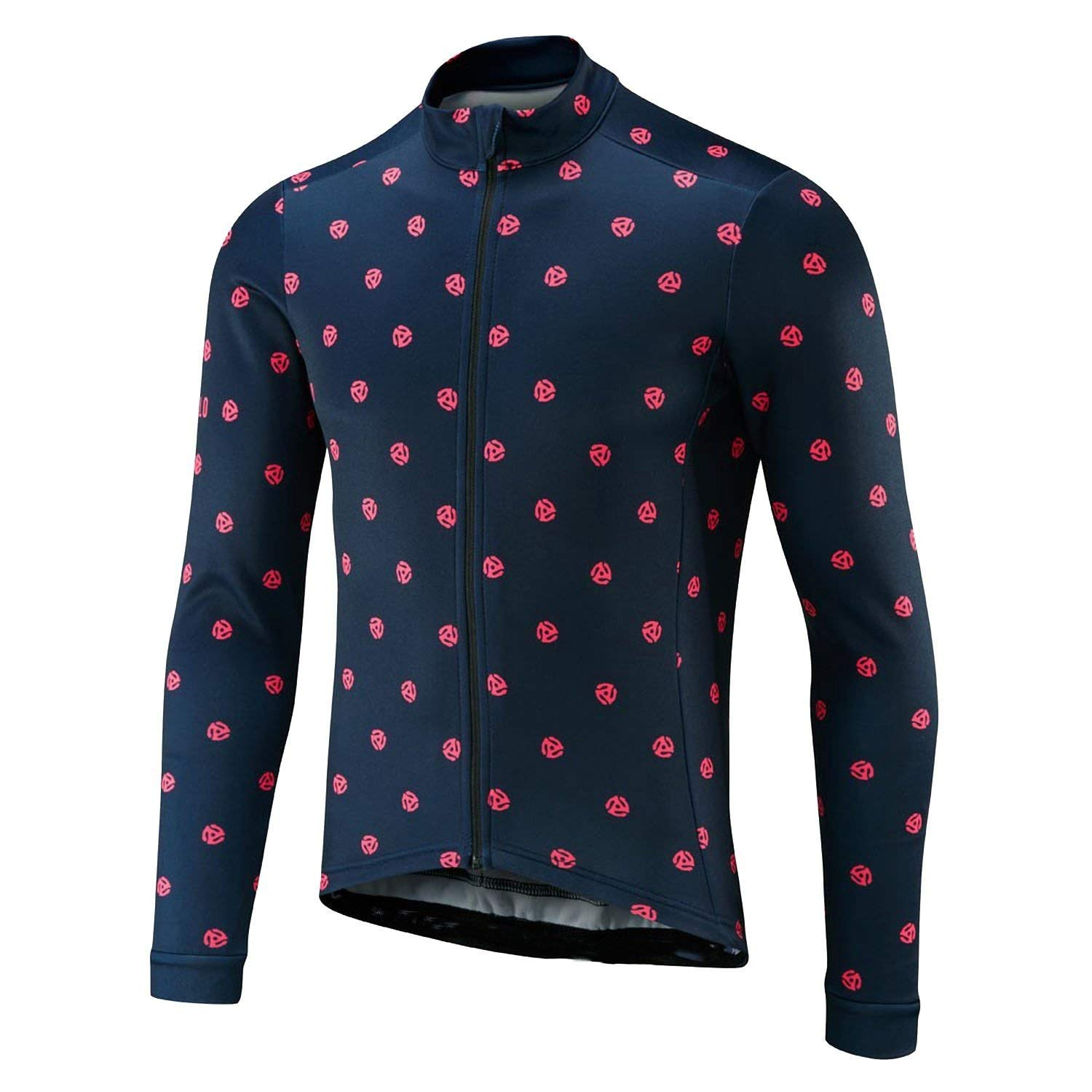 4 M contentment Men Bicycle Long Sleeve Cycling Jersey Clothing