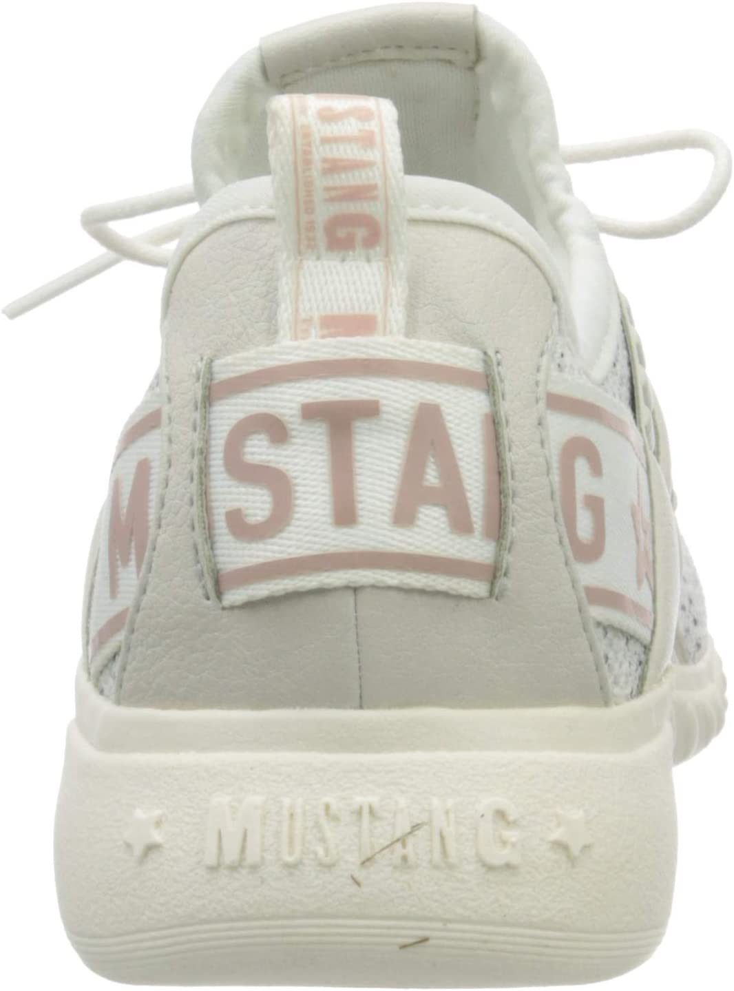 MUSTANG 1315-304-100 Damessneakers Weiß (Off-white 100)