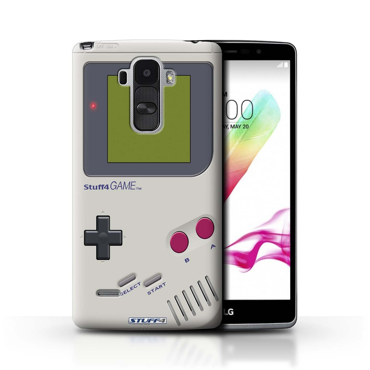 Stuff4® Carcasa/Funda Dura para el LG G4 Stylus/Serie ...
