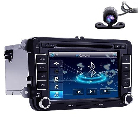 hizpo doble DIN en Dash GPS para VW Series/asiento serie/Skoda serie 7