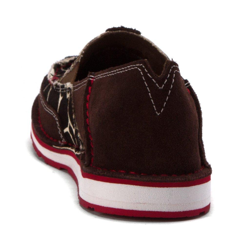 Ariat Women's Cruiser Slip-on Shoe B01LXTOUFL Suede/Giraffe 7 B(M) US|Chocolate Chip Suede/Giraffe B01LXTOUFL Hair on edc793