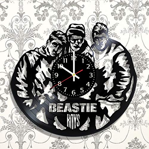 Beastie Boys Vinyl Record Wall Clock, Beastie Boys Handmade for Kitchen, Office, Bedroom. Beastie Boys Ideal Wall -