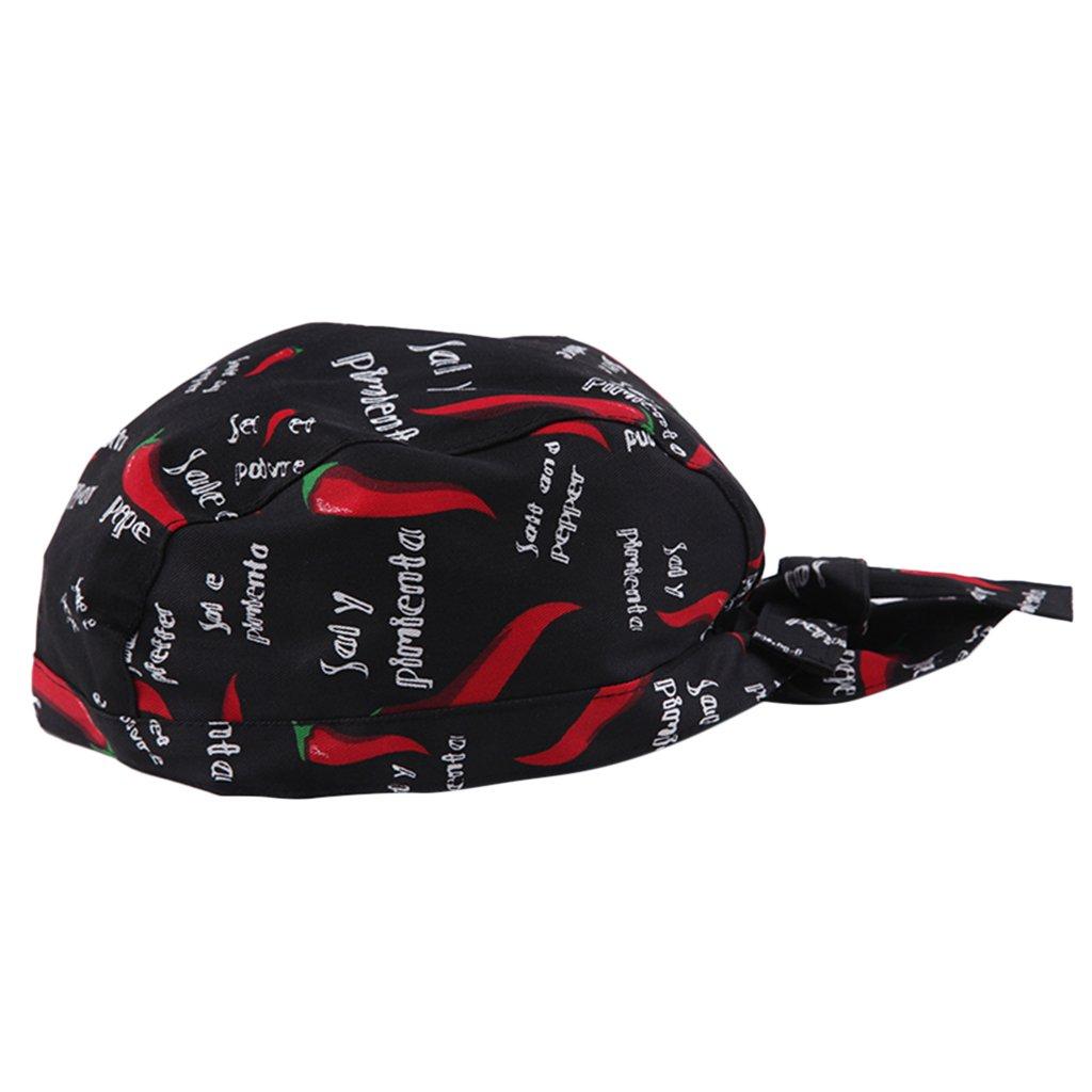Sharplace Cappello Bandana Ristorazione Asciugamani Cappellini Berretti da Cuoco Chef Taglia unica