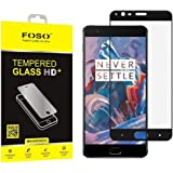 FOSO(TM) OnePlus 3 Tempered Glass, Full Glass 9H Hardness Toughened Screen Guard Protector
