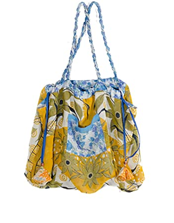 35eac9a4c2dd Fair Trade Reversible Tote Bag made from Upcycled Saris - Each is Unique