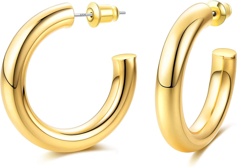 Earrings Woman Gold Earrings Hoop Gold Earrings Gold Accessories Hoop Earrings Gold Earrings gift Hoop Earrings Hoop Earrings Large