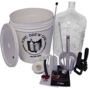 reliable Home Brew Ohio RL-WKZ2-0IJS Gold Complete Beer Equipment Kit