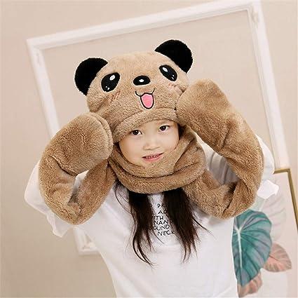 0469b8f0c Amyannie Unisex para niños Suave Invierno cálido con Capucha Bufanda Pañuelo  de Cuello de la Camisa