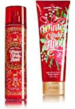 Bath & Body Works ~ Signature Collection ~ Winter Candy Apple ~ Winter 2016 ~ Gift Set ~ Fine Fragrance Mist & Ultra Shea Body Cream