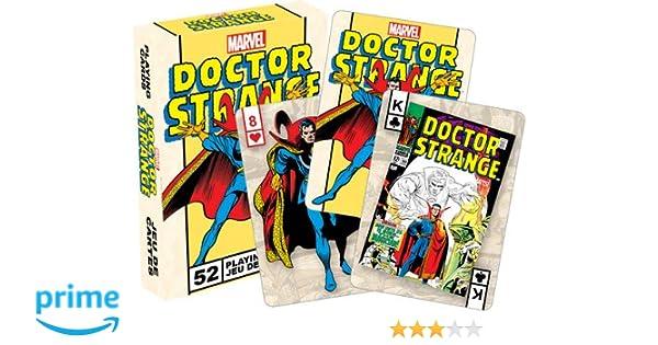 Aquarius Marvel Dr. Extraño Retro Playing Cards