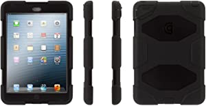 Griffin Survivor All-Terrain Case for iPad Mini 1/2/3, Black/Black (GB35918)