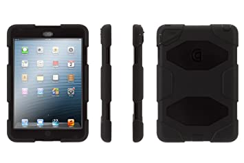 Griffin Survivor - Funda para Apple iPad Mini, Negro