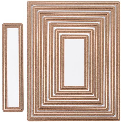 UPC 879216017344, Spellbinders S5-131 Nestabilities Card Creator A-2 Matting Basics A Die Templates