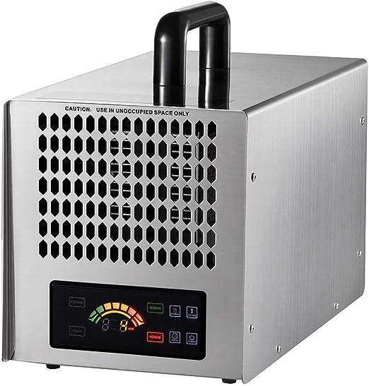LIUQIGRASS Generador de ozono Comercial 20000 MG/H purificador de Aire O3 Profesional, ionizador | Filtro de Aire Resistente, ambientador y esterilizador | Mejor para Control de Parada: Amazon.es: Hogar