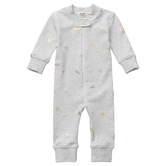 8ada44ede100 Owlivia Organic Cotton Baby Boy Girl Zip Up Sleep N Play