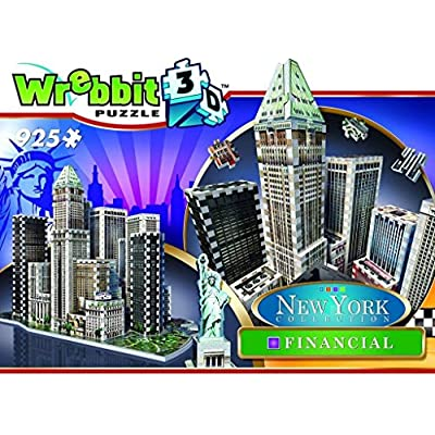 Wrebbit W3d 2013 Puzzle 3d Financial 925 Pezzi