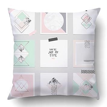 Amazon.com: emvency fundas de almohada decorativa Bulk con ...