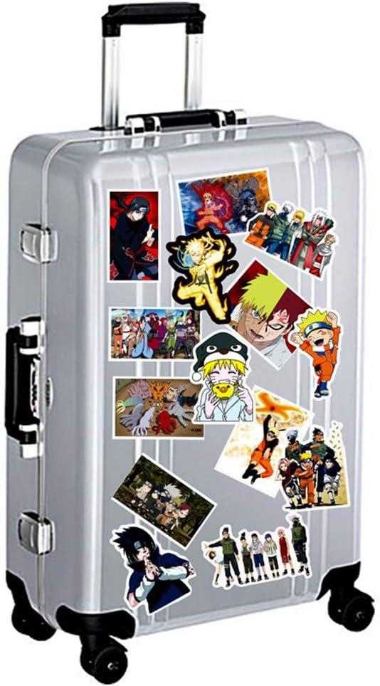 ALTcompluser Naruto Vinyle autocollant non assorti pour ordinateur portable skateboard snowboard bagages macbook voiture pare-chocs voiture pare-chocs diff/érents styles 63 St/ück