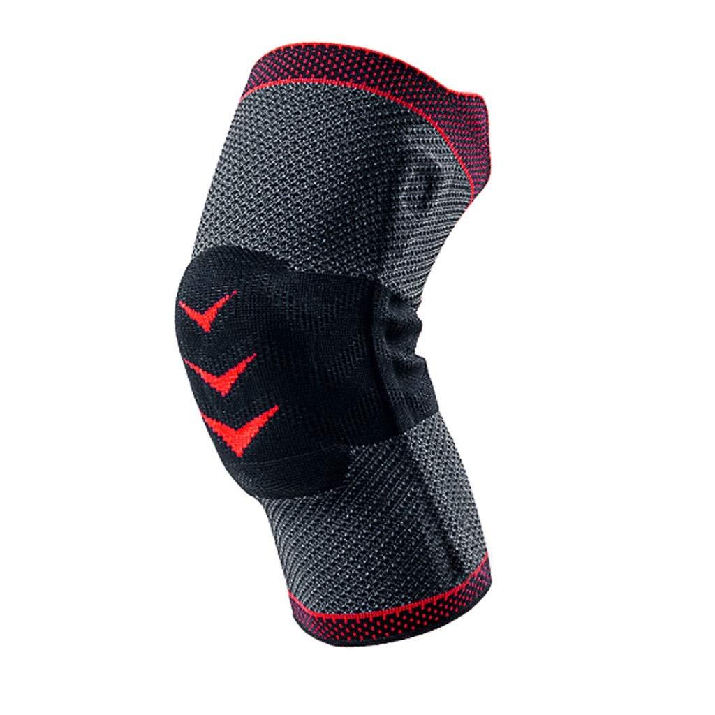 膝当て 半月板保護 膝パッド 通気性 優れた弾力性 ニーパッド 作業用 膝プロテクター 衝撃吸収 ひざサポーター 膝をつくお仕事にも最適 野球 自転車 ユニセックス シングル F-13 (赤)