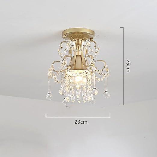 Cdbl -Deckenleuchte LED-Deckenleuchte, Schlafzimmer-Kristalllampe ...