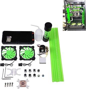 Kit de refrigeración de Agua para Ordenador con disipador de Calor ...
