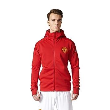 913e411f471 adidas Men s Manchester United FC ANTH ZNE Y Zip Sweatshirt