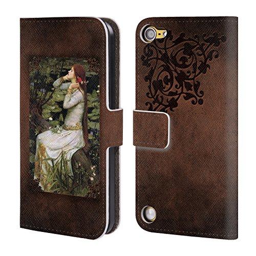 Ufficiale Brigid Ashwood Casa SullAcqua 12 Pre-Raffaelita 2 Cover a portafoglio in pelle per iPod Touch 5th Gen / 6th Gen