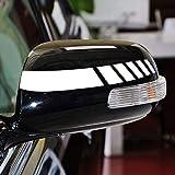 ボコダダ(Vocodada)車 カーステッカー バックミラー ストライプ 装飾 2個1セット バイク 自転車 デコレーション 窓 ウィンドウ デカール カー ステッカー 車用シール おしゃれ 車に最適!かっこいい (B)