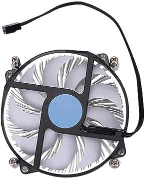 ASHATA Cold Storm 1U Aluminio Silencioso Ultrafino CPU Enfriador ...