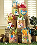 Sets of 6 Embellished Spring Treat Bags (Spring)
