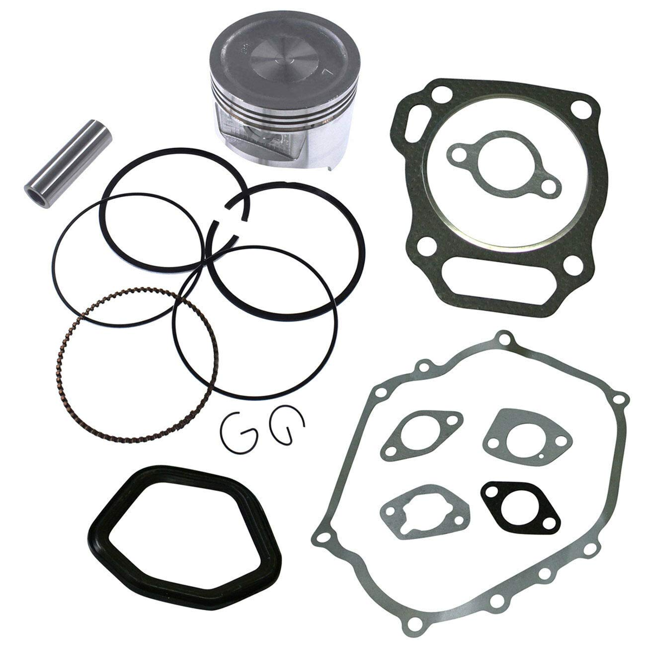 FidgetKute Piston Kit Parts to Fits Honda GX390 13HP Engine Motor Replace by FidgetKute
