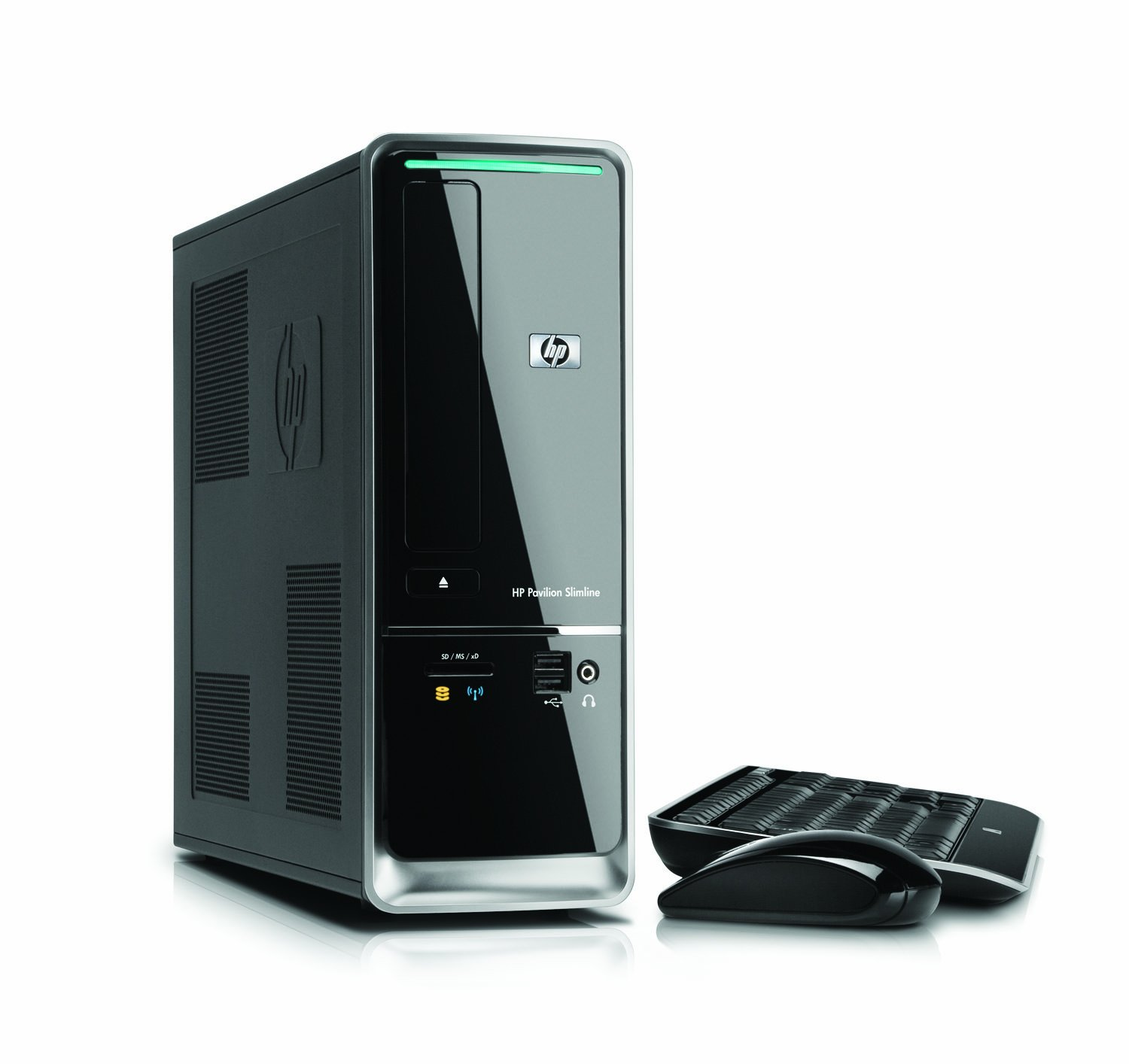 Amazon.com: HP Pavilion Slimline - s5710f PC (Black) (Discontinued by  Manufacturer): Computers & Accessories