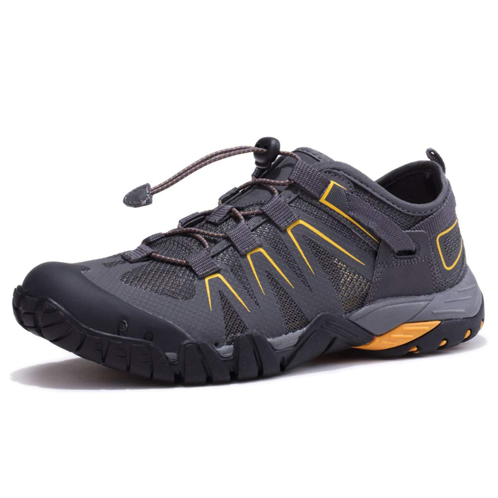 Grey LIUYL Mens Water shoes Barefoot Sports Quick Drying Trainers Gym Running Beach Swim Surfing Diving Yoga Boating Driving shoes