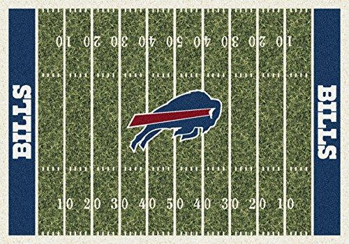 Buffalo Bills NFL Team Home Field Area Rug by Milliken, 3'10